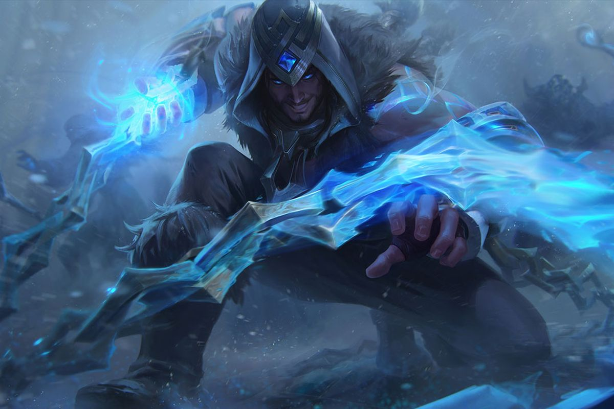 WIN FRELJORD SYLAS with emerald chroma follow me, comment which server and RT to entry ♥ end 20th January follow me on IG for more: instagram.com/viandherart Good Luck! #LeagueOfLegends #LeaguePartner #twitchstreamer #streamer #Freljord #Sylas #LPP #League10