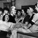 Image for the Tweet beginning: 10th January 1961: Women at