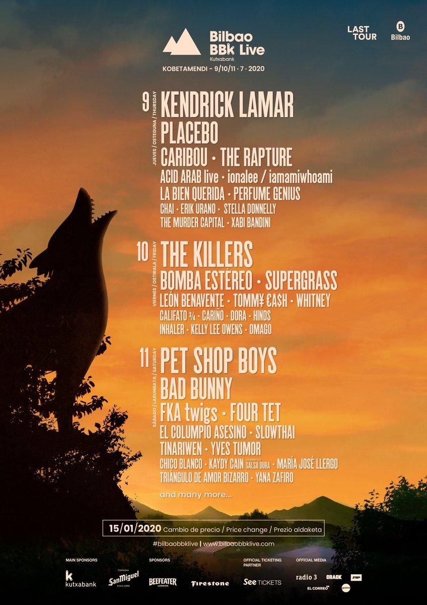 Placebo tour 2020
