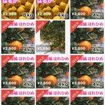 Image for the Tweet beginning: 🍊はれひめ🍊から 🍊はるか🍊に バトンタッチ  フリマアプリ「メルカリ」で販売してます  #はるか #はれひめ #バトンタッチ #メルカリ #みかん