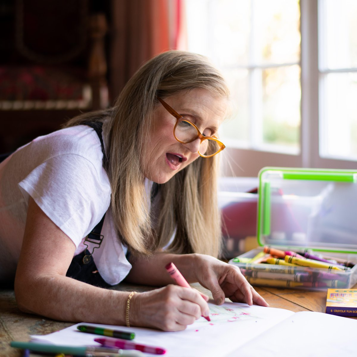 Silly adults...coloring is for everyone! How do YOU get creative? #nancycartwright