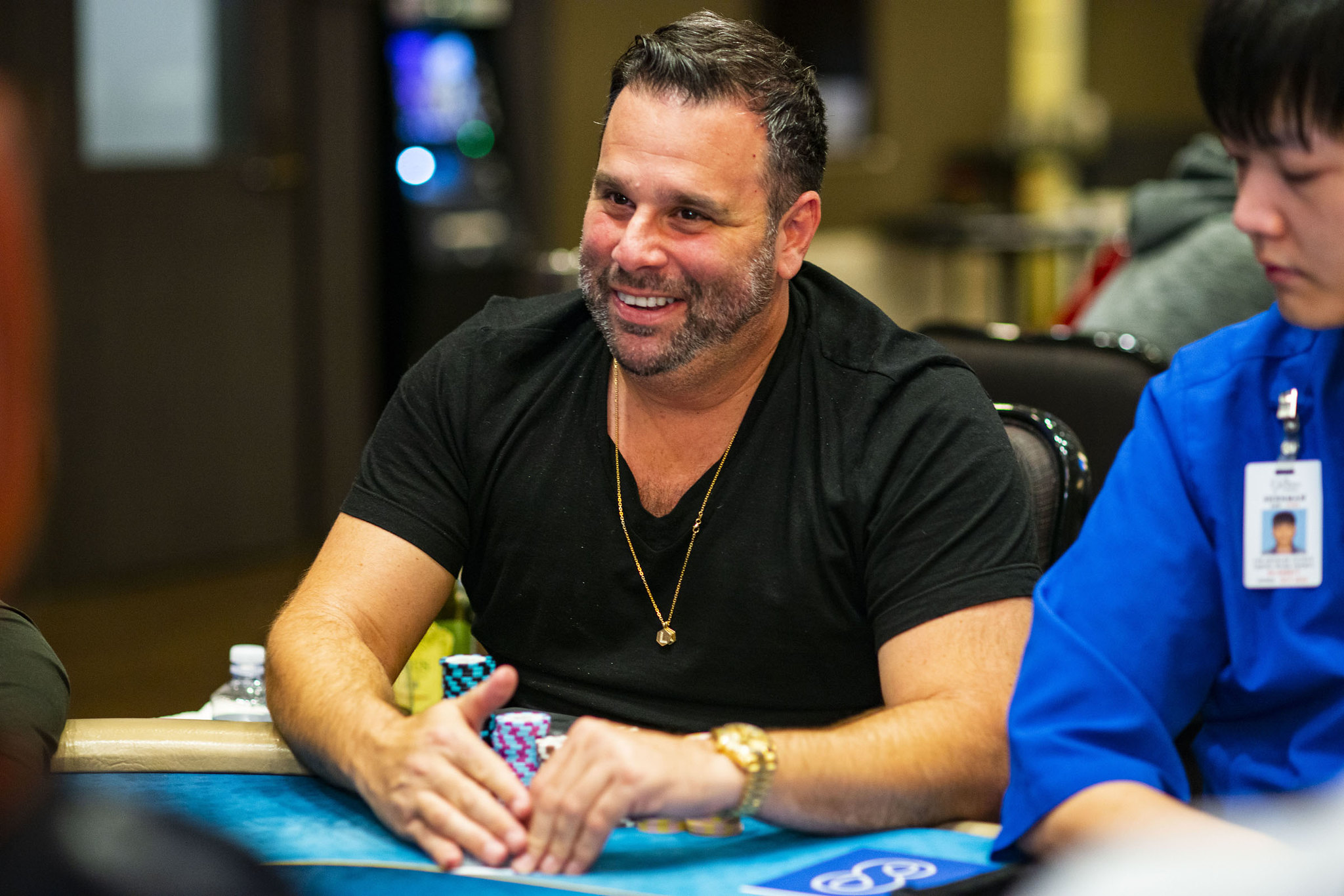 World Poker Tour On Twitter To Be Chip Leader For Me Is Like The High Of All Highs People Don T Realize How Important This Is To Me Randall Emmett Leads Wptgardens