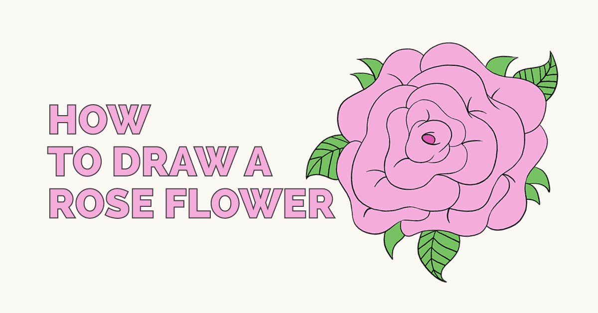 easy drawing guides on twitter how to draw a rose flower easy to draw art project for kids see the full drawing tutorial on https t co xwag9rnjcu rose flower howtodraw drawingideas https t co kxz16ofx89