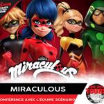 Image for the Tweet beginning: L'équipe de Miraculous sera présente