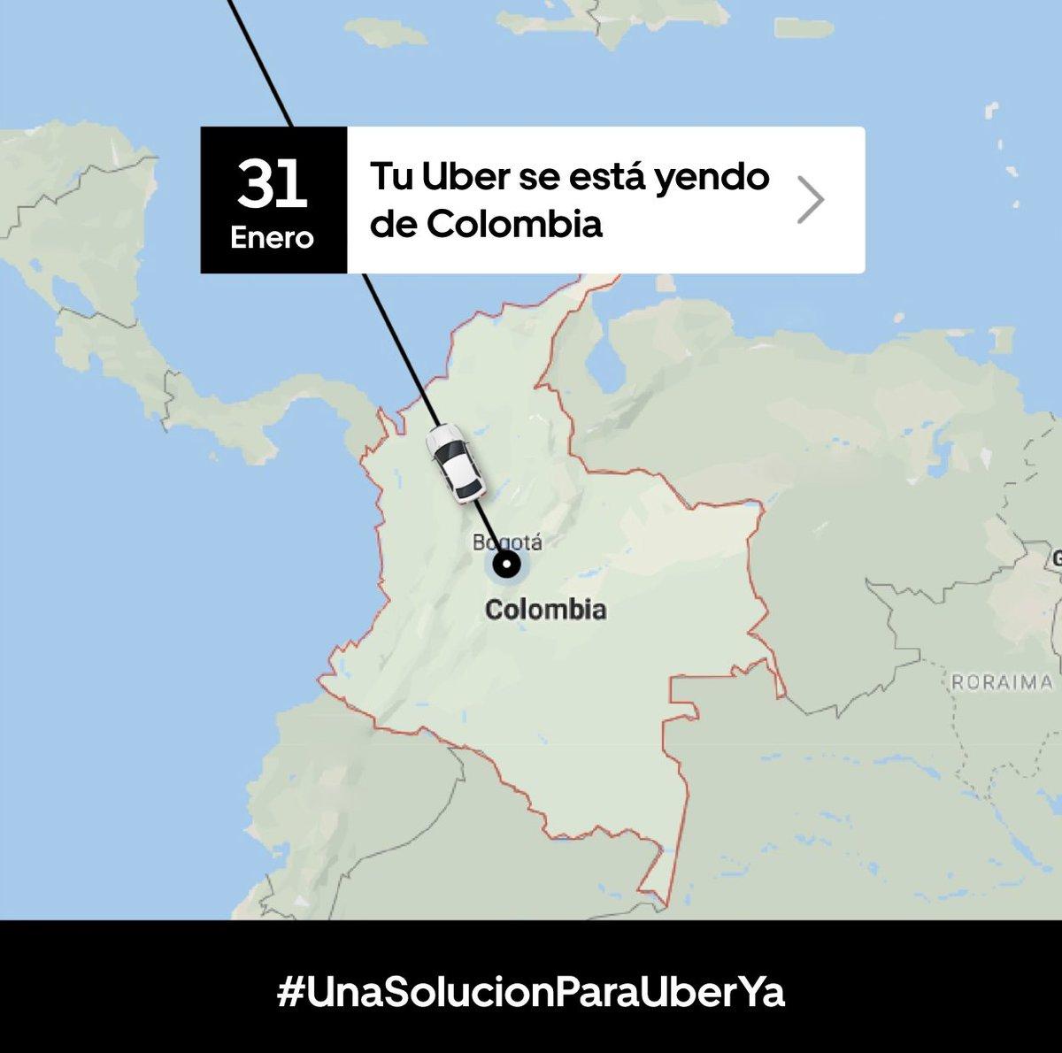 😢Adiós... ojalá hasta pronto. #UnaSolucionParaUberYa