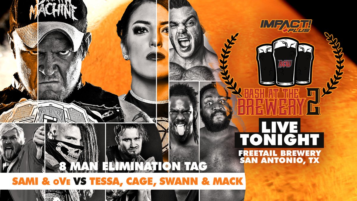 Impact Wrestling Bash At The Brewery 2 Results: Knockouts Street Fight, Elimination Tag Match