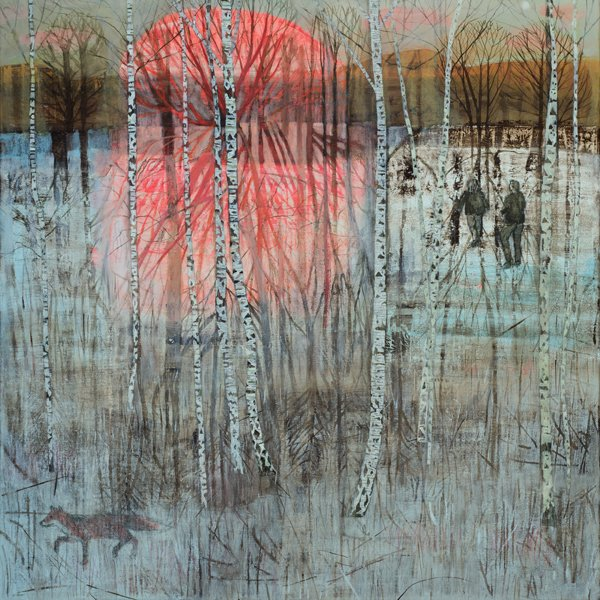 First Light by contemporary UK artist by Dawn Stacey #womensart