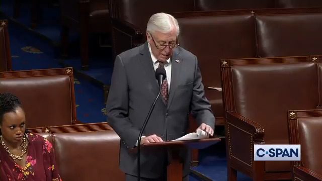 .@leaderhoyer: We do expect there to be legislation on the floor next week with reference to what we call supplemental legislation for the appointment of managers, the funding of the effort…we expect the papers will be sent sometime soon. Full video: cs.pn/36HzJxE