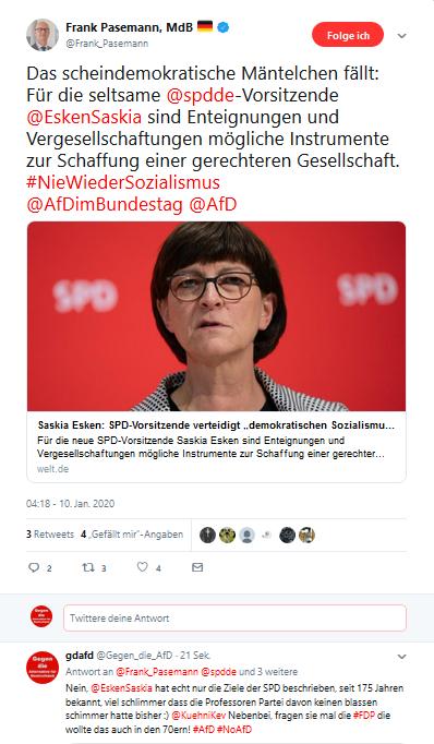 #Sozialismus