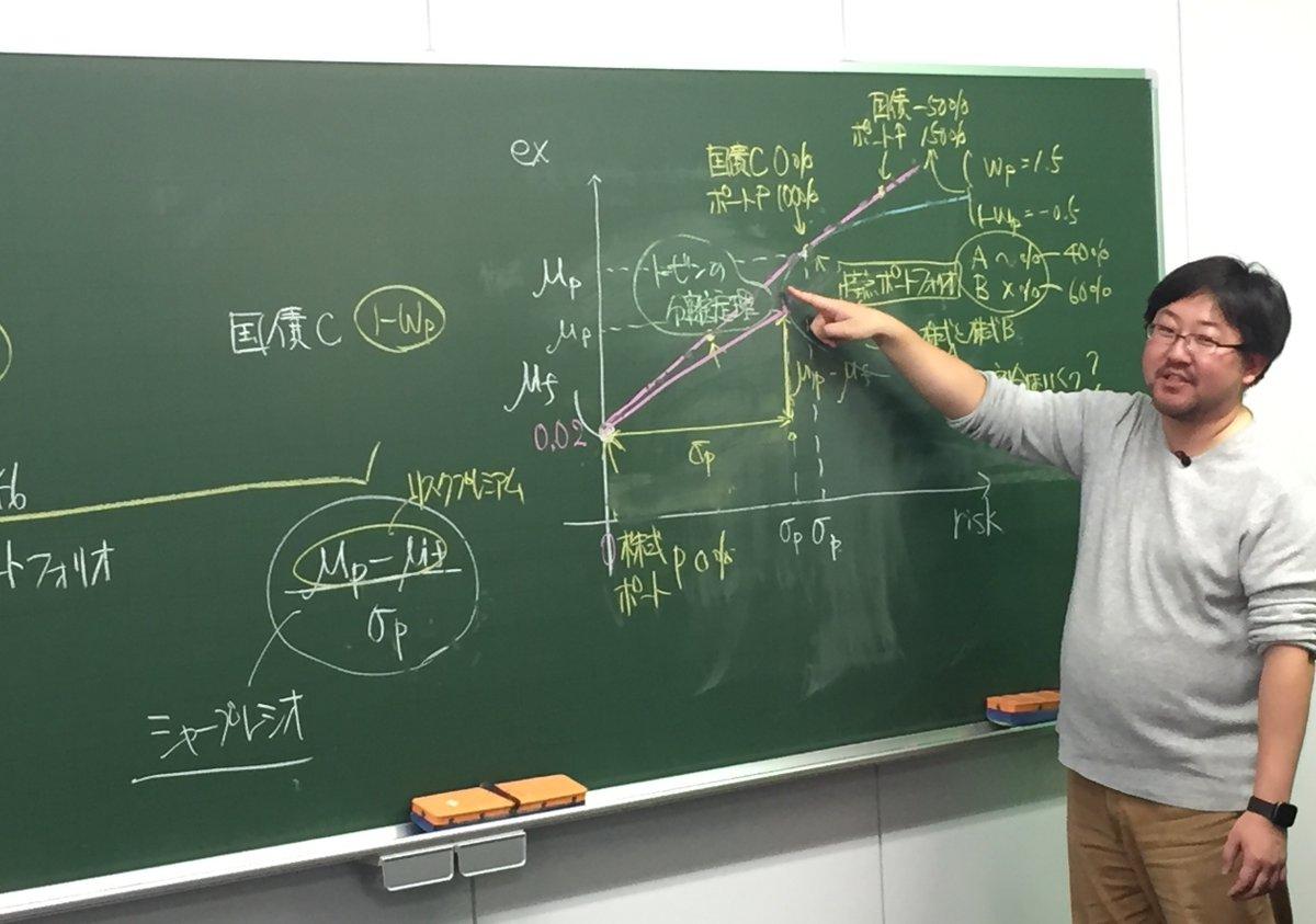 分離 トービン 定理 の トービンの分離定理とは