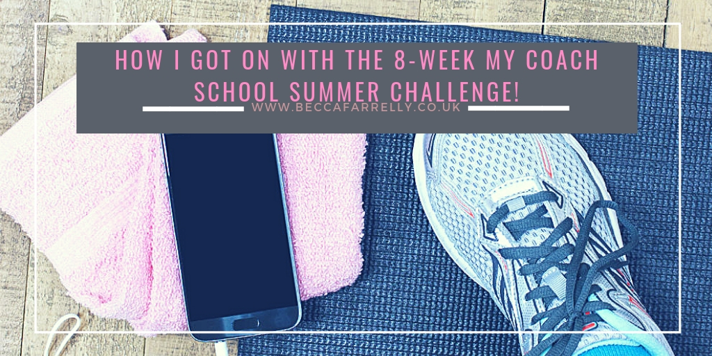 If you are looking to get fit for the Summer or for a family holiday, I have been on an 8 week summer challenge with MyCoachSchool! https://beccafarrelly.co.uk/how-i-got-on-with-the-8-week-my-coach-school-summer-challenge/ … ad #healthandfitness #MyCoachSchool #summerchallenge pic.twitter.com/0lRhJzlCkC