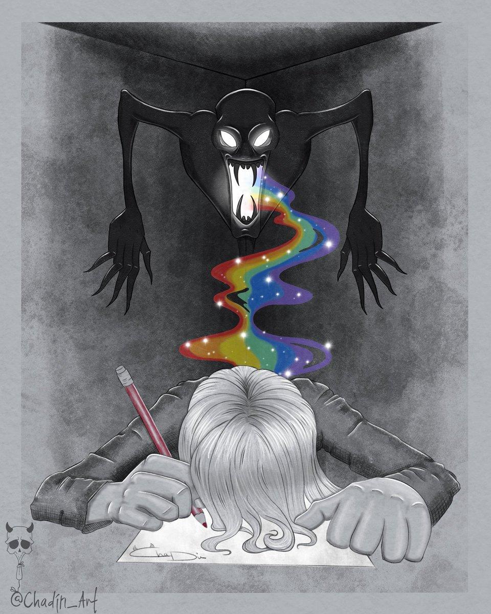 """Creative Coma"" - SCP 3285  #horror_sketches #thehorrorgallery #gothart #homesweethell  #horrorartwork #creepmachine #darkart #spookyart #creepycute #darkillustration #scaryart #macabreart #weirdoart #monster #chadinart #scp #scpfoundation #creativecoma #creative #comapic.twitter.com/ZeVz3dc5d1"