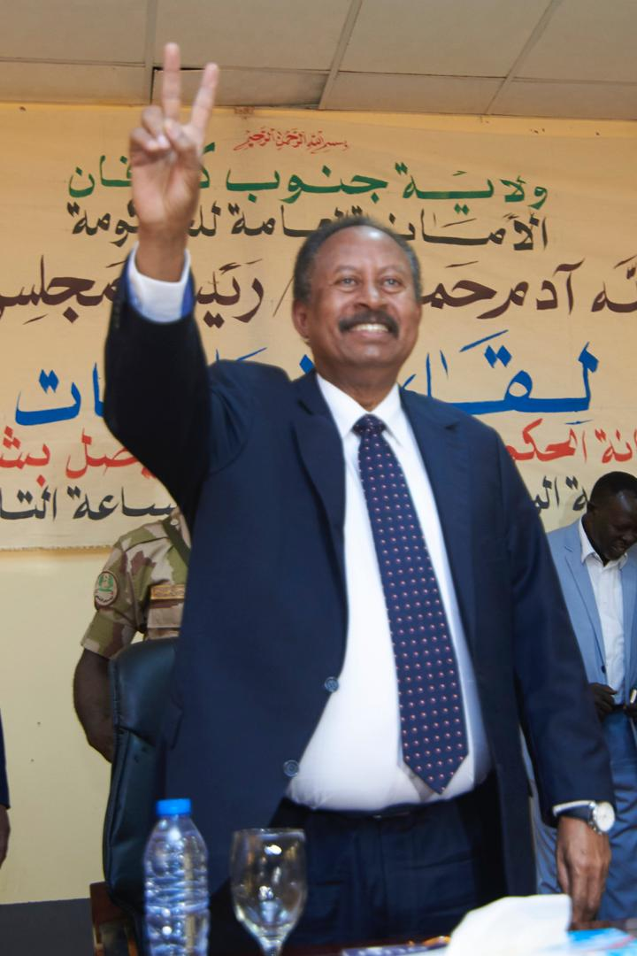 We attentively listened to all the demands and aspirations of the people of Kadugli. This revolution will not be complete unless all the Sudanese people are living in peace and development.  We will work together to bring Sudan to its glory again. <br>http://pic.twitter.com/1Jz6LFdaU1