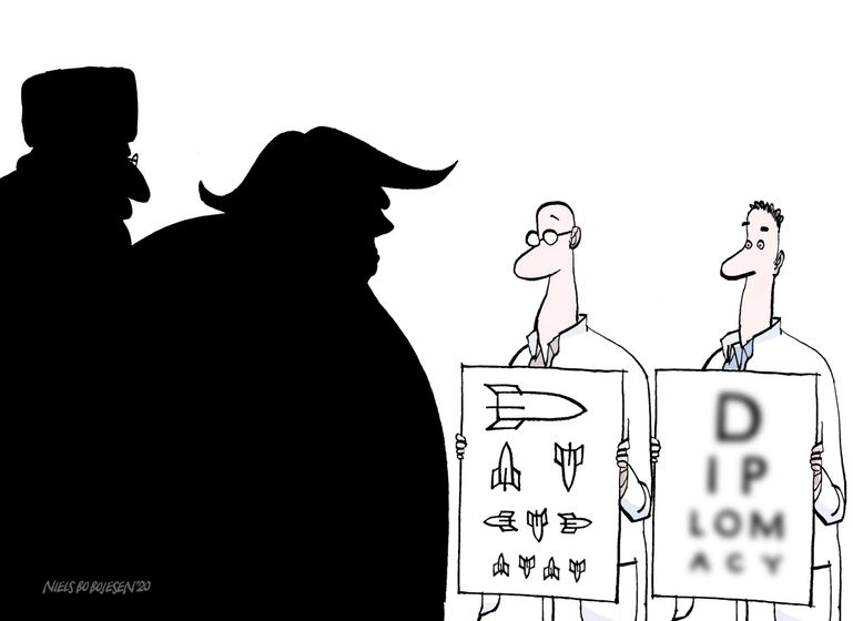 The Cartoon Movement On Twitter Us Iran Relations Cartoon By Niels Bo Bojesen Https T Co Xphbbse6cj