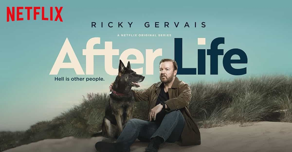 Ok, so I'm a bit late to the party but I've just watched #AfterLife - this is the best thing I've seen in years!! @rickygervais