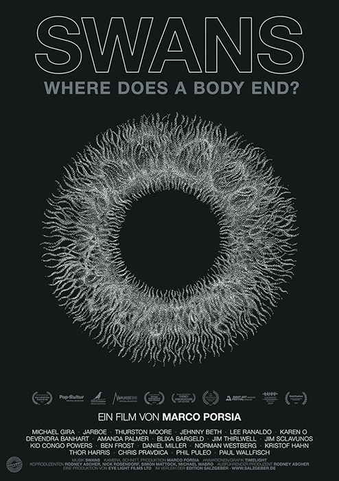 "Derzeit im #Kino: Ein Porträt der  ""lautesten Band der Welt"" - ""Swans - Where Does A Body End"" https://www.filmdienst.de/film/details/594133/swans-where-does-a-body-end … #Dokumentarfilmtipp #NeuImKino pic.twitter.com/QgLIRg9FbX"