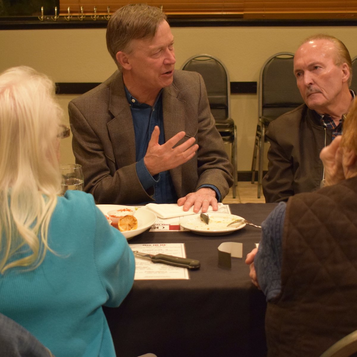 Thank you for the thoughtful questions and conversation last night in Burlington! Be back soon.
