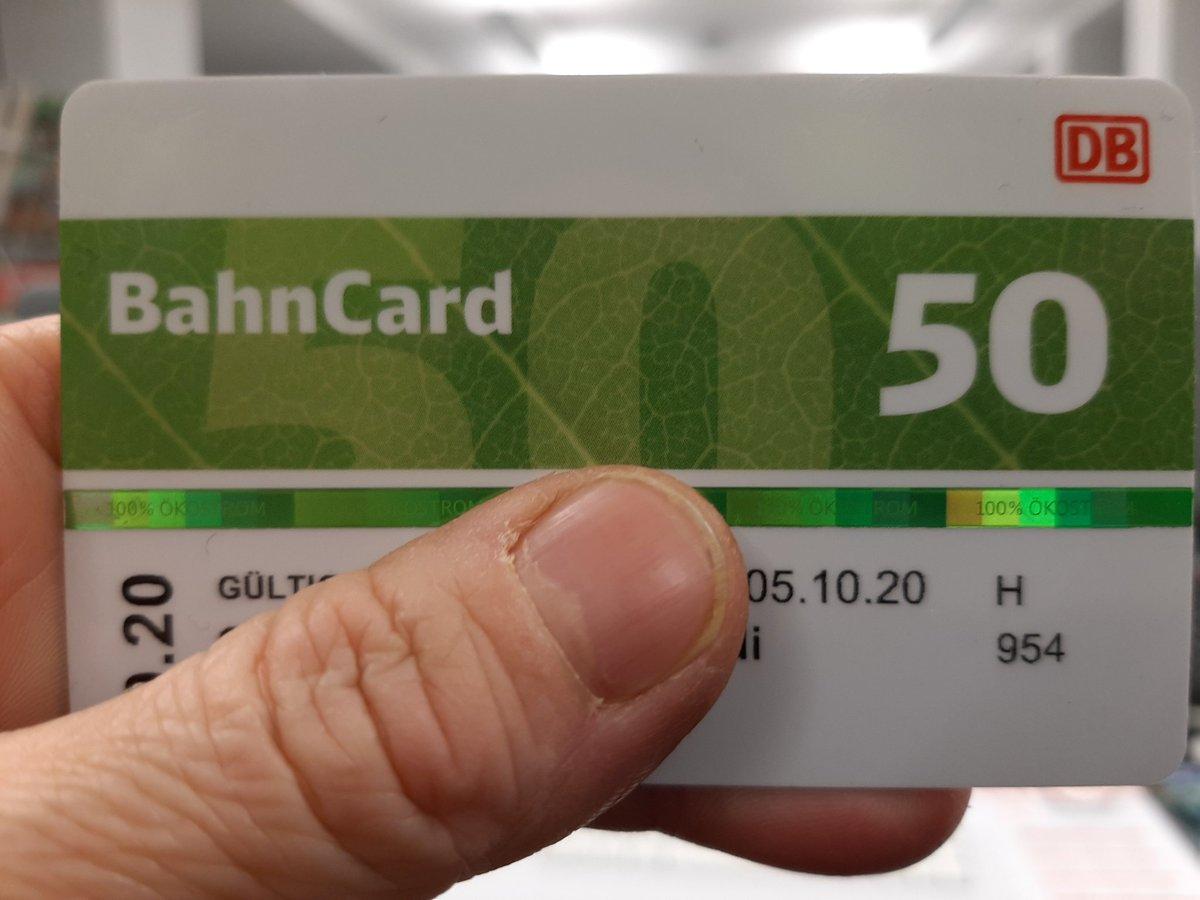 #Bahncard