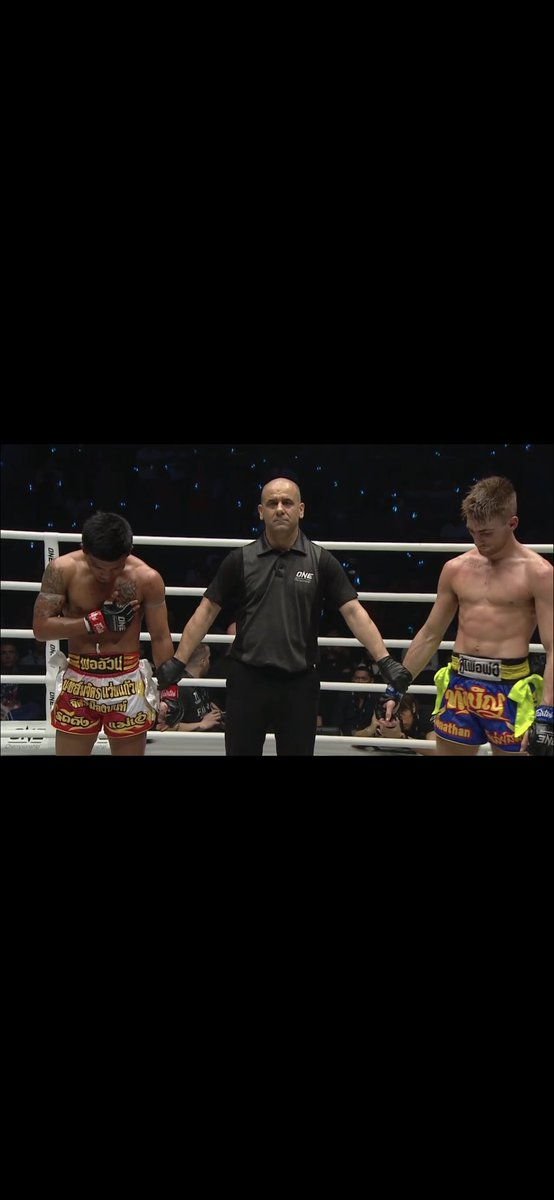 Amazing fight between these warriors this morning @ONEChampionship