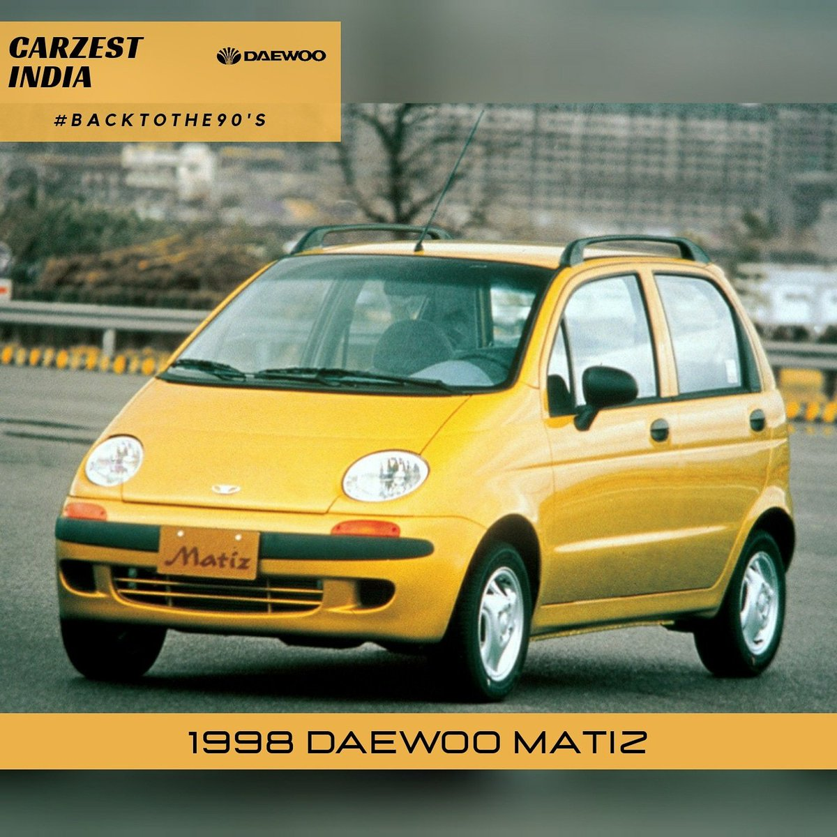 Back to the 90s - 37 Daewoo Matiz Matiz would have easily surpassed other hatchbacks at that time, had not been a financial crisis hit the brand at a wrong time..  Matiz was SUCH A WONDERFUL car & people here started loving it until the crisis hit! #DaewooMatiz #Matiz #Carpic.twitter.com/aMsAsaxXqz