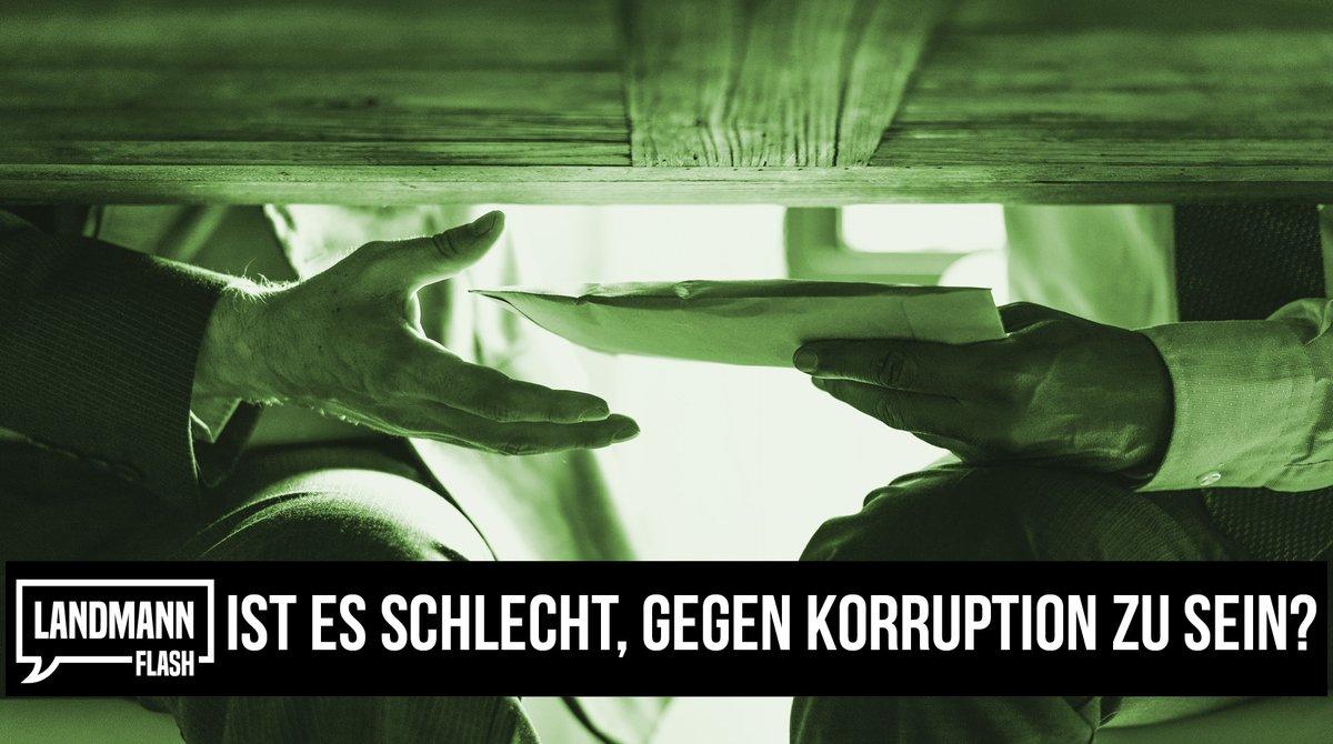 Valentin Landmann über das ist es schlecht, gegen Korruption zu sein?  @V_Landmann  https://t.co/sUFUZVygPX  #ValentinLandmann #Politik #Schweiz https://t.co/sNeTT16dYj