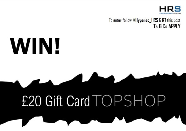 COMPETITION TIME #Competition #giveaway #WIN a £20 Topshop gift card!  To be in with a chance, just... * FOLLOW @hyperec_HRS * RETWEET this post  * COMMENT what you'd buy   #HappyFriday #win #giveawaycontest #repost #januarysales  ENDS: 17/01/20<br>http://pic.twitter.com/pRovAwKysp