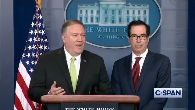 Q: What is your definition of imminent? @SecPompeo: This was going to happen. American lives were at risks. Full video here: cs.pn/2sVLRN2
