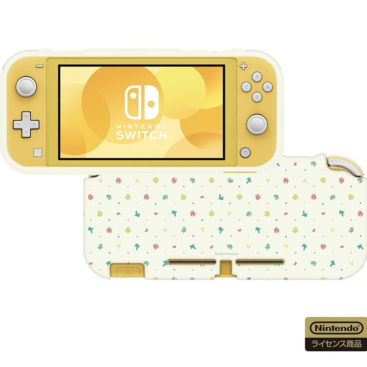 animal crossing switch lite skin uk