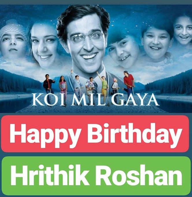 Happy Birthday Hrithik Roshan SUPERSTAR
