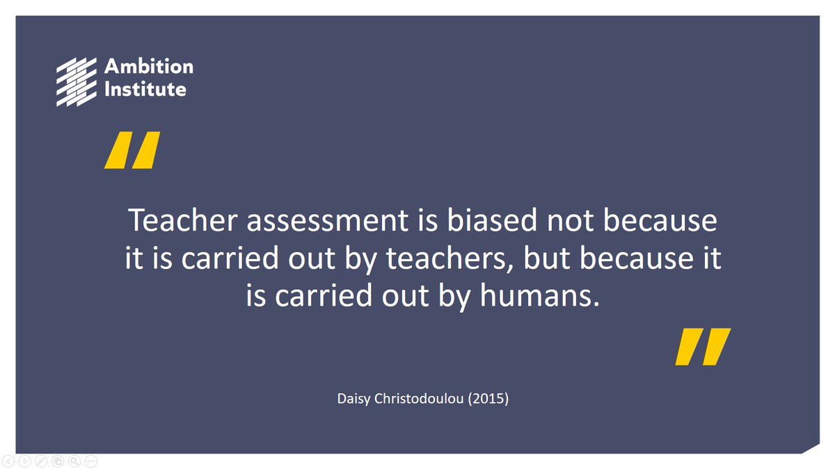 Participants on #MastersinExpertTeaching are exploring bias within assessment with @Nick_J_Rose today in Sheffield.