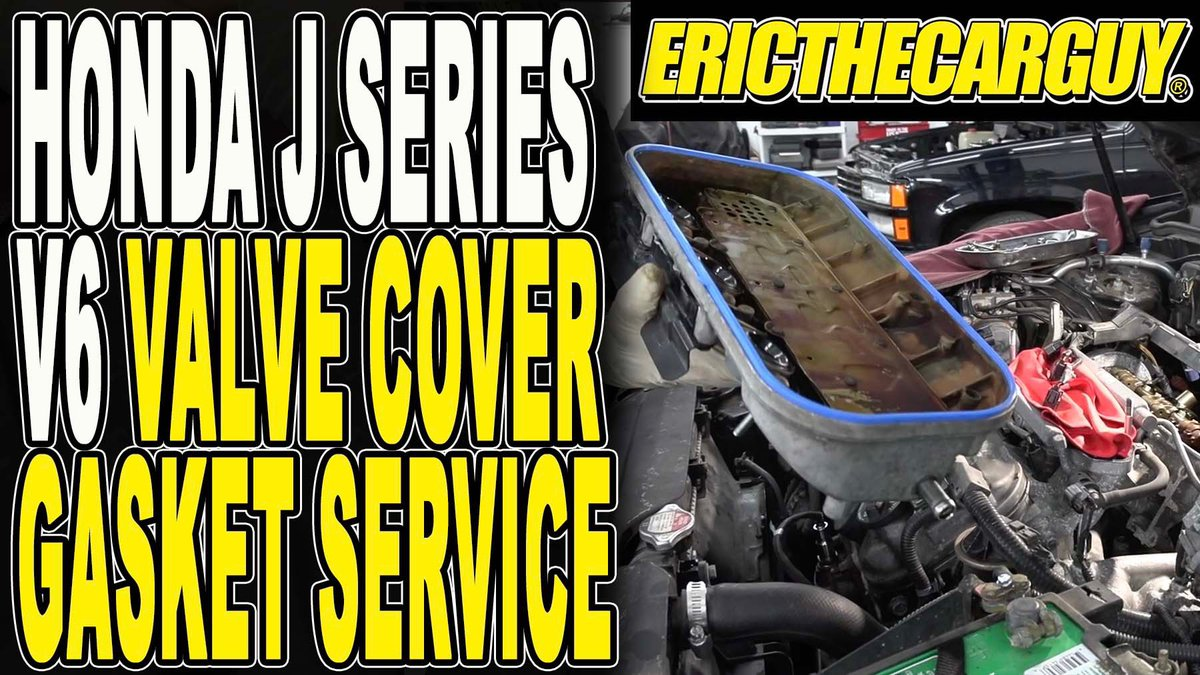 Remember that valve cover leak on the TL? In today's #etcgvideo I show you how to fix it. #oilleak #autorepair #repairvideo #honda #acura #etcgblackura  https:// youtu.be/GeddYKKorsY     <br>http://pic.twitter.com/YrDjt7eFts