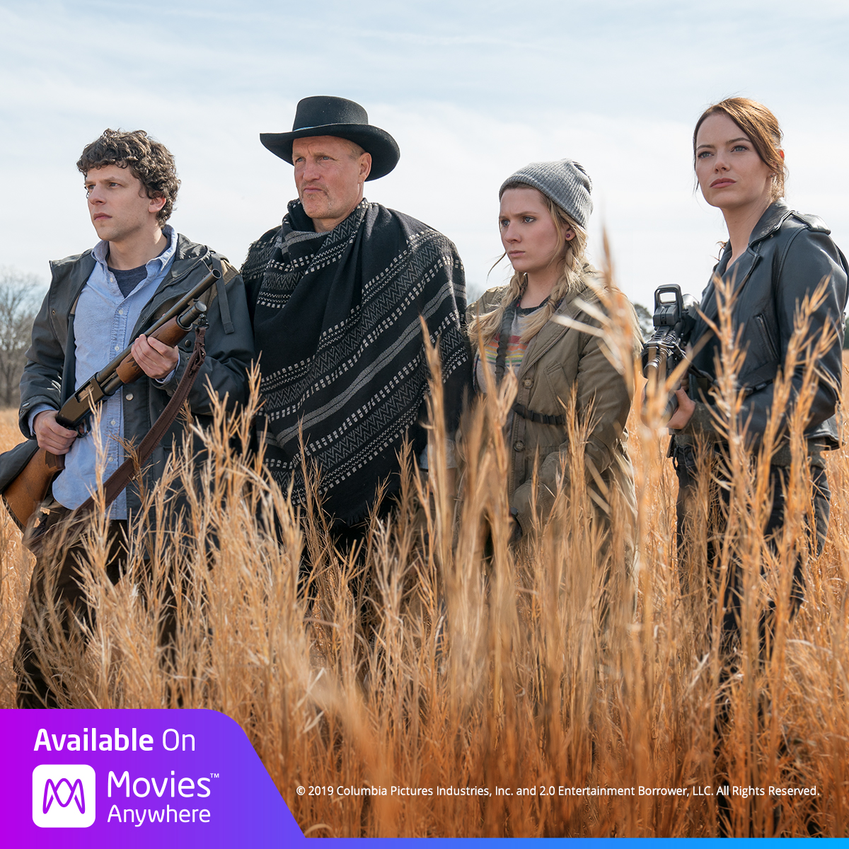 Don't miss the movie everyone's dying to see. #Zombieland: Double Tap is available now on @Movies_Anywhere! https://t.co/tPutqECEel https://t.co/20ySC4XZpb