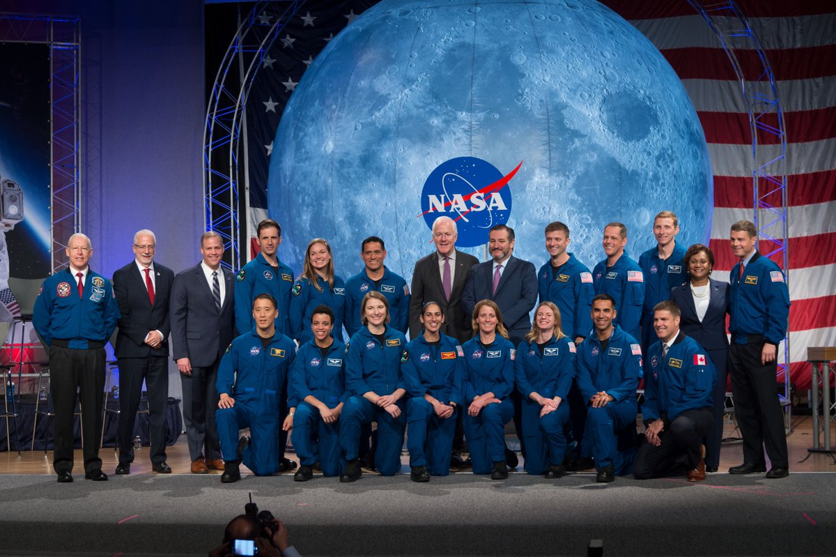 Proud to stand with the men and women of @NASA_Johnson