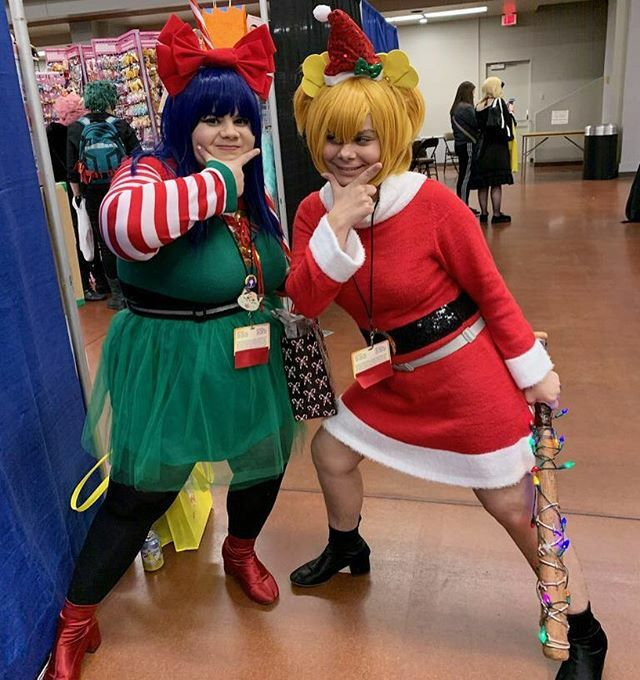 What if we killed you and stole all your gifts? Jk Jk.. Unless  --- Popuko: @skycraftworx  Pipimi @ me --- #taiyoucon #taiyou #taiyoucon2020 #popteamepic #popteamepiccosplay #cosplay #memecosplay #cosplayers #christmascosplay #popuko #pipimi #popuko… https://ift.tt/36JFomN pic.twitter.com/kZ04C8S8EB