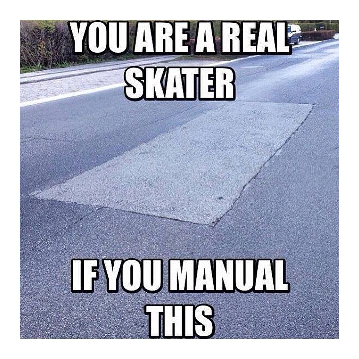 Facts  Smash like if you're a real skater  Follow @skateobsessed for the hottest skate memes and clips EVERY day  via @skatememes   #sk8er #skatememes #skatermemes pic.twitter.com/gfV4Pz6LTP