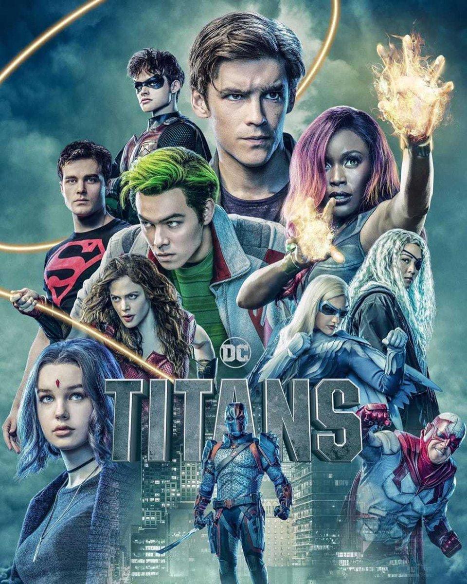 Hoje estreiou a segunda temporada de Titãs na #Netflix. Quem aí já começou a assistir?pic.twitter.com/4XB9UxvkXM