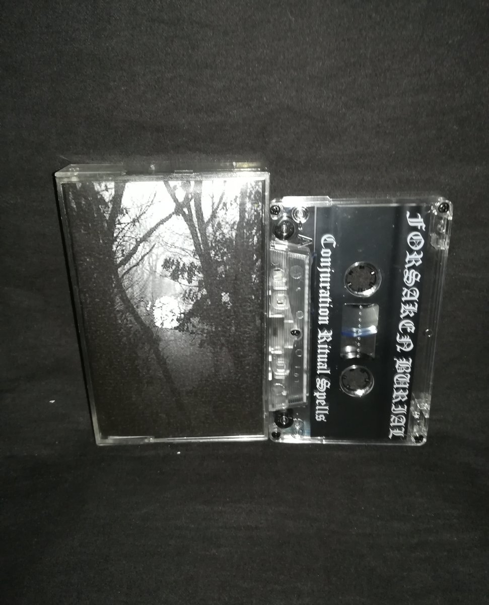 "#ForsakenBurial #USA ""Conjuration Ritual Spells""   5€+postage⁠ ⁠ warproductions@gmail.com⁠  http://www.war-productions.org   #WarProductions⁠ #Mailorder⁠ #SupportTheUnderground⁠ #BlackMetalTapes #TapeKvlt⁠ #TapeFormat #TapePorn #BlackMetalCollection pic.twitter.com/NgSUR2bOBX"