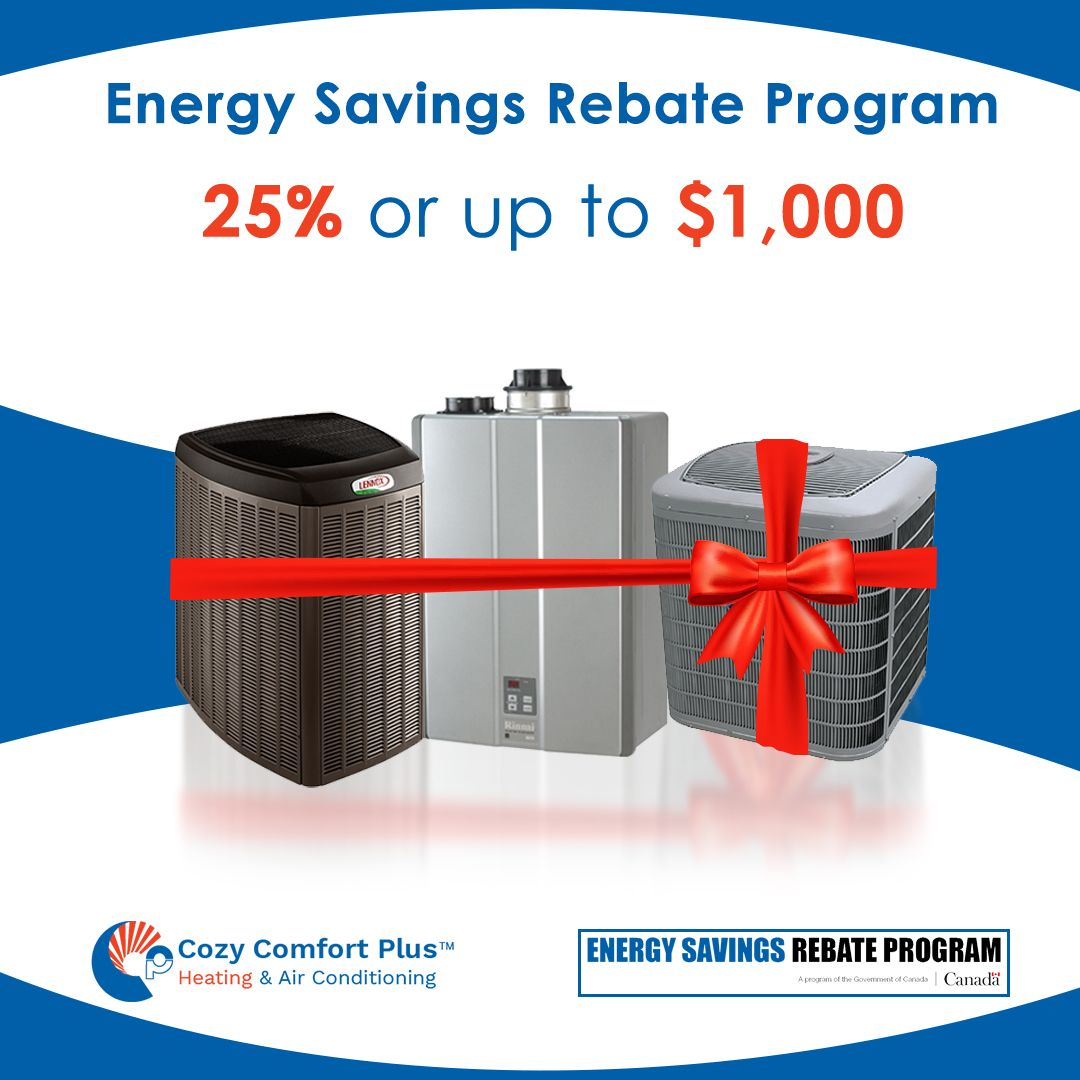 Energy Rebate Savings + Lower Energy Bills = A Great Deal For more information about this program, visit us or call (416) 780-9760 to speak to an HVAC expert. #Rebate #Energyrebate #Deal #Energysavingsrebateprogram #rebateprogram  https://buff.ly/2R7JdLQpic.twitter.com/VimNVBWzTX