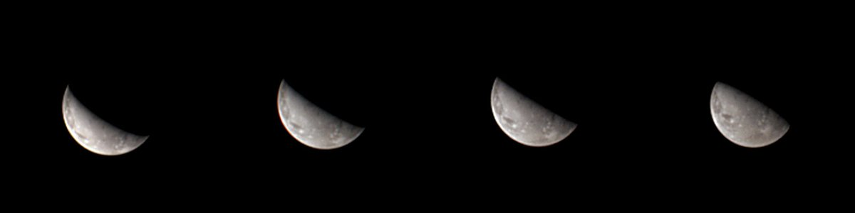 Ganymede! This sequence of four new images reveals the first views of the north polar region of Jupiter's moon Ganymede, the largest moon in the solar system. Learn more: https://t.co/KFfZwBeG8n Image processing by Gerald Eichstädt. https://t.co/jJHo4ZezIw