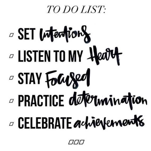 To do list ✅ #onefortheweekend - We hope everyone had a great week!