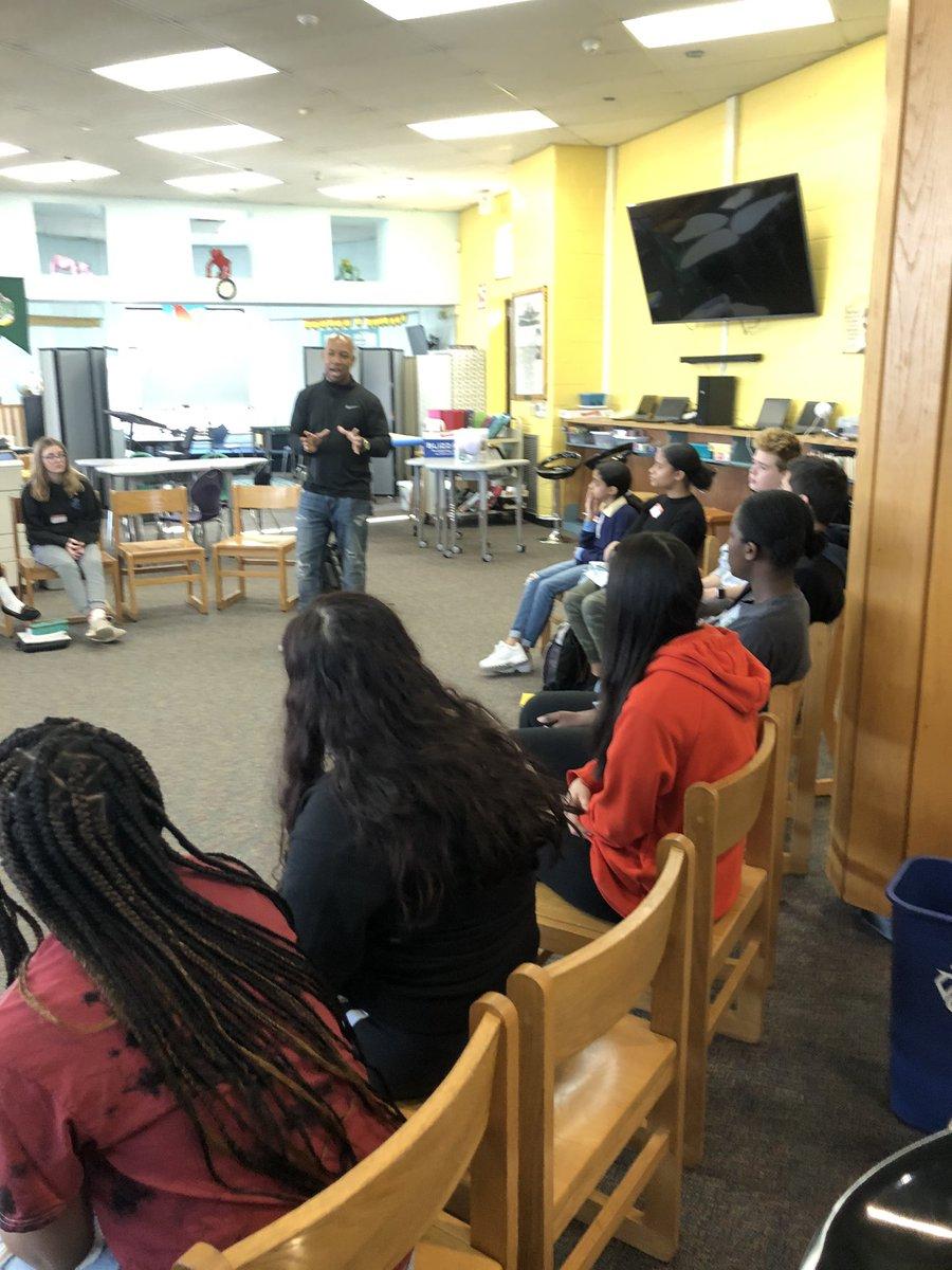 @keithspeaksout leading student workshop