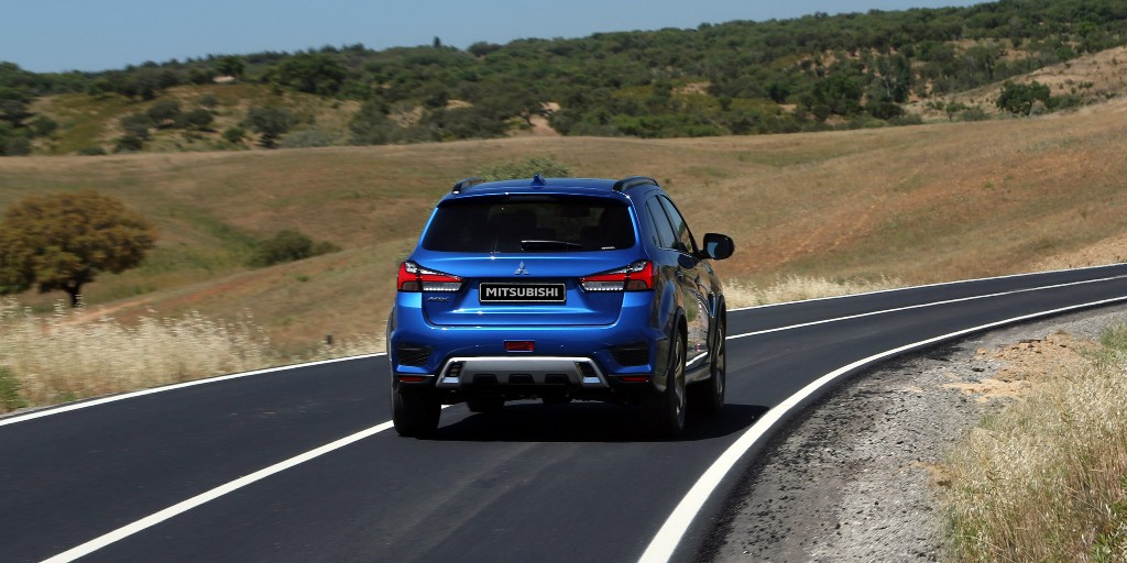 The #ASX. Our small but family friendly SUV.   More info at: