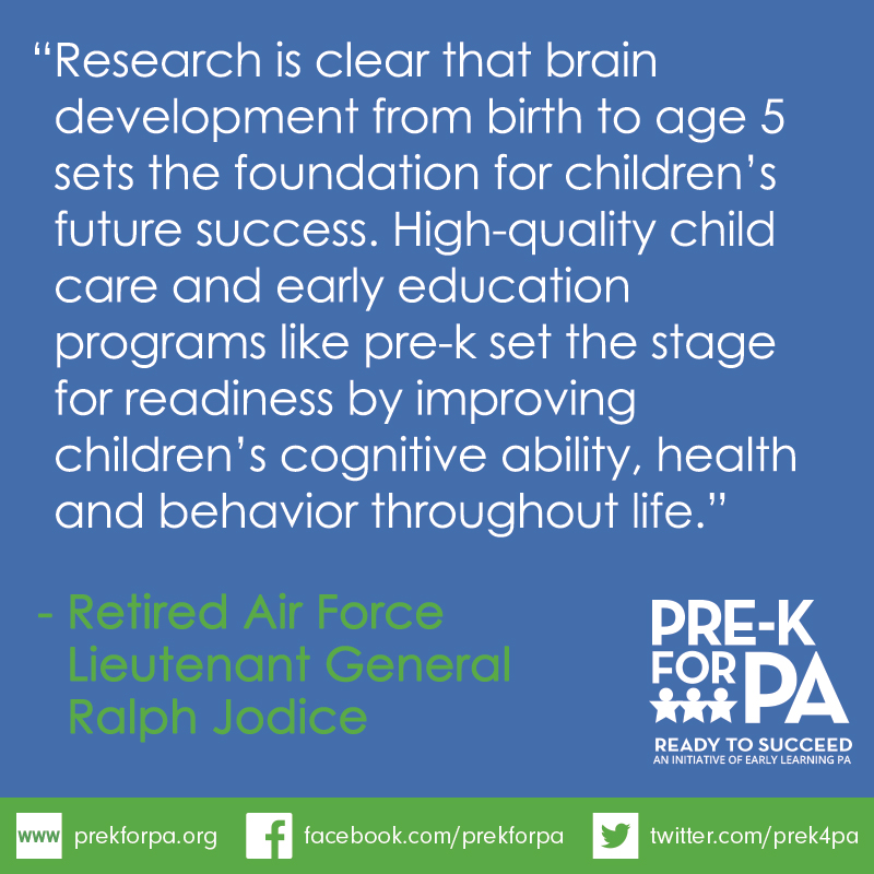 Pre-k sets the stage for readiness in school, careers and life! #iamprek #PreKWorks