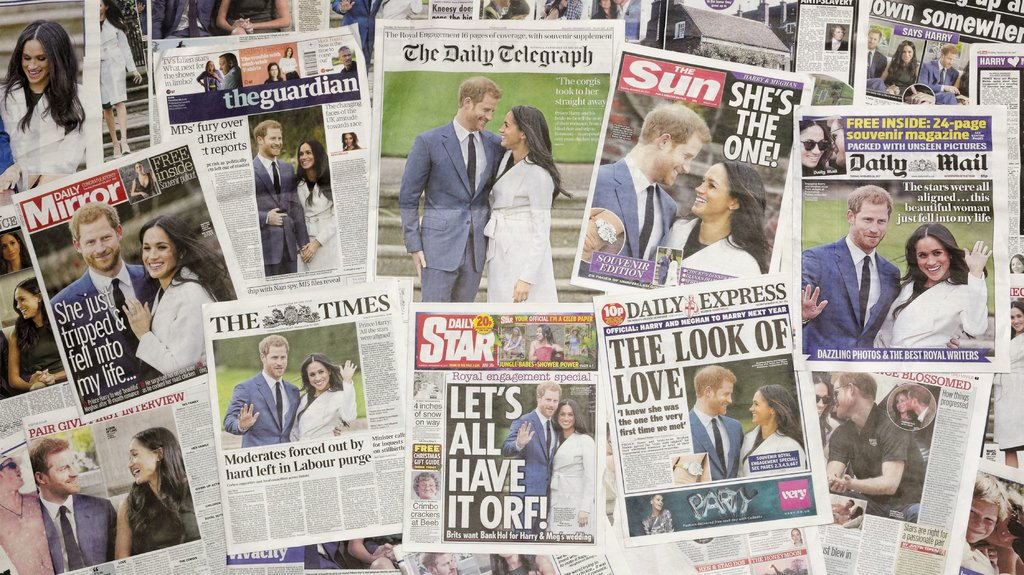 'Nasty racist British press had it in for Meghan from the start.'