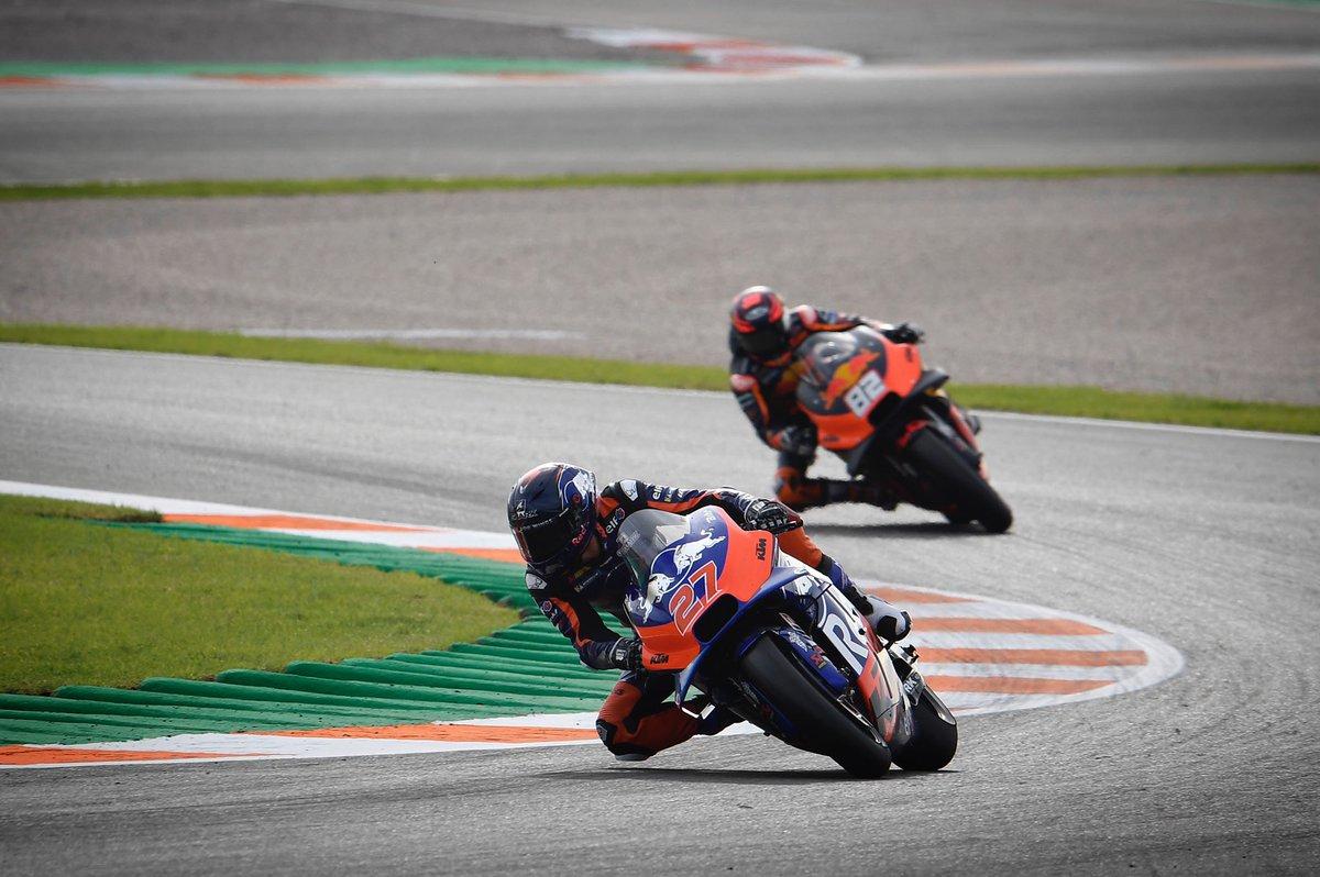 Remembering Iker's first laps 💭 #KTM #Tech3 #MotoGP @MotoGP #IL27
