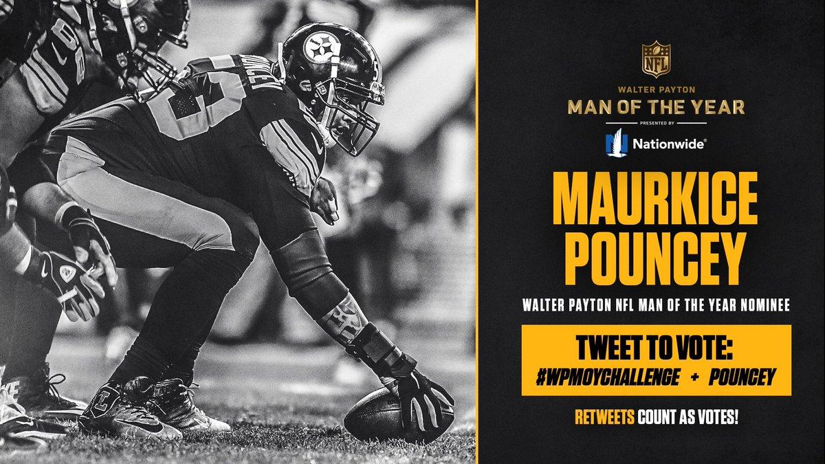 #WPMOYChallenge @MaurkicePouncey