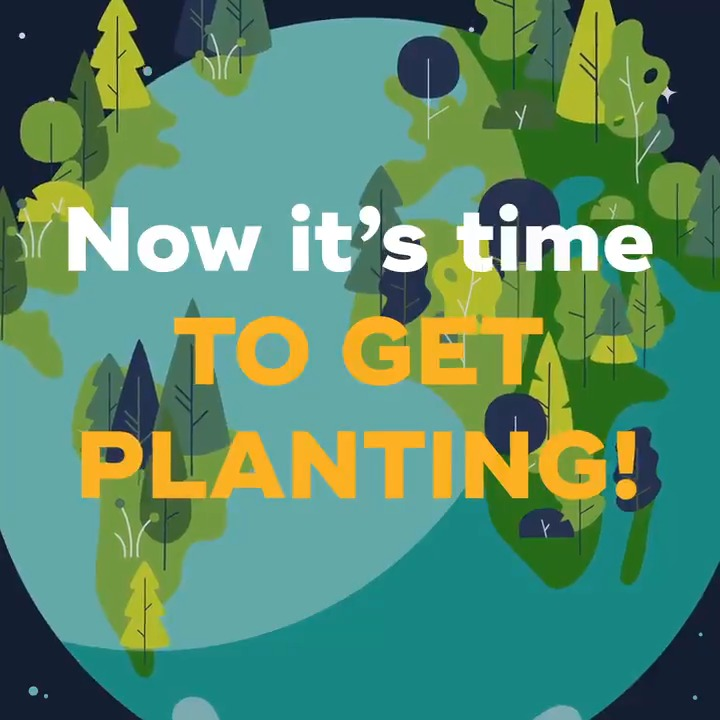 Over 20 million trees. Six different continents. Benefits for all of us. Its time to get planting! #teamtrees #timefortrees