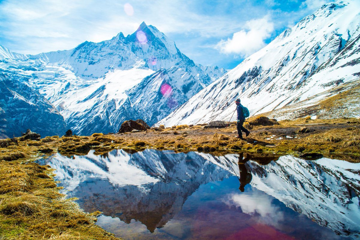 Why Hike the Annapurna? Read our blog about this adventure & we hope you'll agree that this trek is still one of the best in the world!https://buff.ly/30aAP2E #hiking #walking #trekking #mountains #annapurna #nepal #treknepal #hikingnepal #guidedtrek #montblanctreks