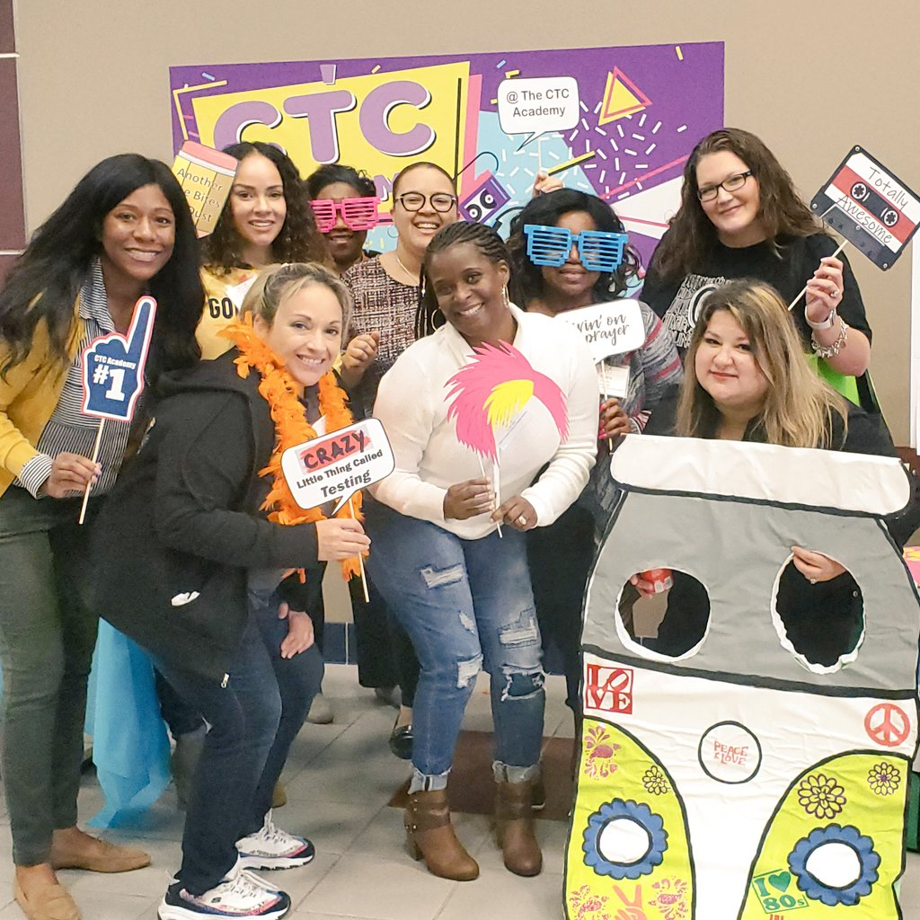 80s theme @R4CTC today! #R4CTC #DontStopBelievin' #BeYou @BusyCounselor @Nesbyc @CounselingHMQ @MuturiSiobhan<br>http://pic.twitter.com/3MO5xDaCaR