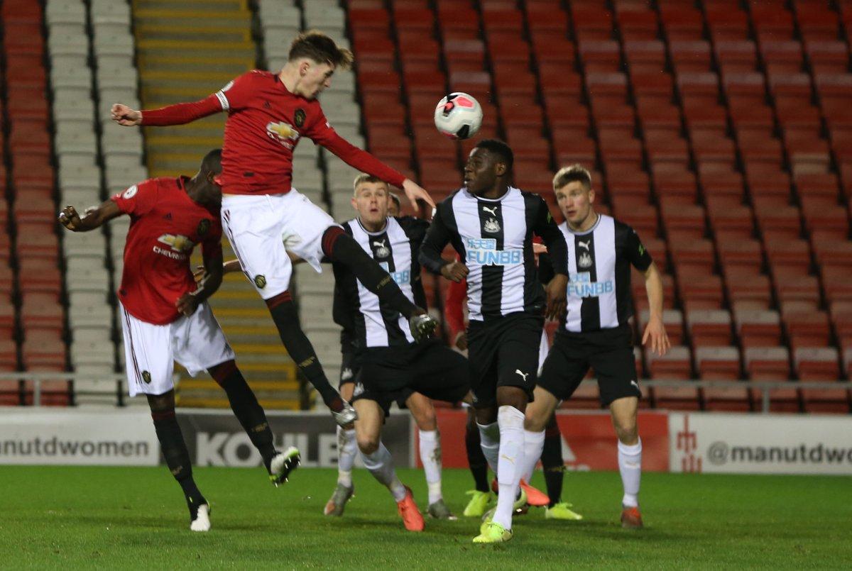 Full Time Manchester United U23 2 1 Newcastle United U23 England Premier League 2 Division 2 January 10 2020 Football365